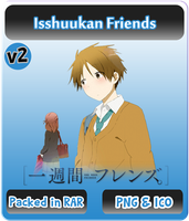 Isshuukan Friends v2 - Anime Icon by Rizmannf