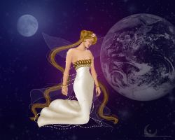 Queen of the Moon 2 by lambdaPower