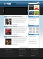 WordPress Theme by dellustrations