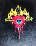 Sacred Heart Eye by Ta2dsoul