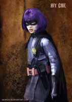 Hit Girl fanart by mking2008