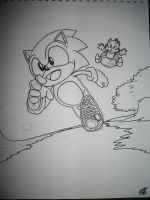 Sonic and Tails by neopie