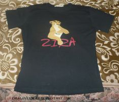 T-shirt Zira TLK 2 by ZiraLovesScar