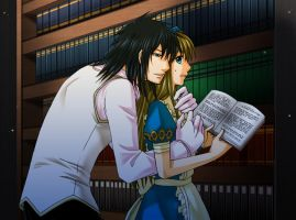 Blood prefers Alice to books by The-Un-ReAL