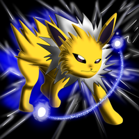 Jolteon by darkevilmuffens-Jay