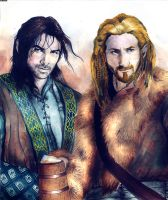 Fili and Kili by Marinio