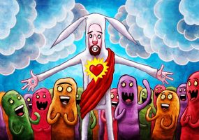 Easter Christ by avid