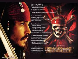 pirates of the caribbean by quimeraD