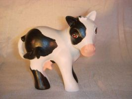 My Little Pony Custom Cow by colorscapesart
