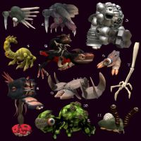 Creatures - Spore 4 by Monster-Man-08