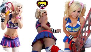 Jessica Nigri - Lollipop Chainsaw Collage 1 by shinkei5