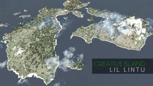 Minecraft Creative Island + Download by Lil-Lintu