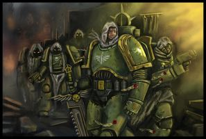 Dark Angels' Patrol by TerenceFelton