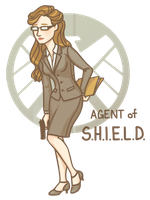Agent of SHIELD by Galadnilien