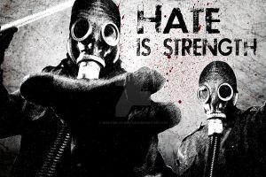 Hate is Strength by creation-of-dystopia