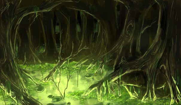 Swamp by DeathTheBunny