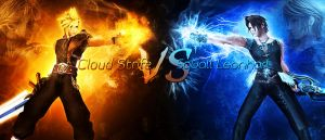 Cloud VS Squall by Darfreeze
