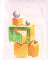 Boxes and Spheres by iEvEtS