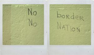 No border no nation by edredon