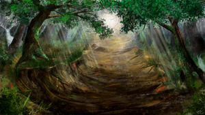 Prompt 13 - Ghosts and spirits plague these woods by ZiryAlex