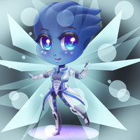 Liara Birthday gift by HylianGuardians