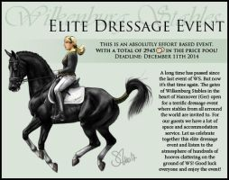 WS Elite Dressage Event Advertise by Tigra1988