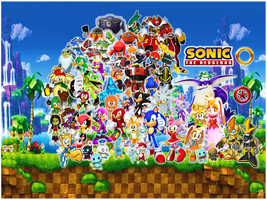 Final Wallpaper Sonic Friends Rivals and Enemies by 9029561
