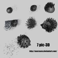 7 pic-3D by nasrzaara