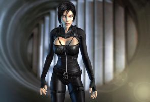 Aeon Flux by Larden