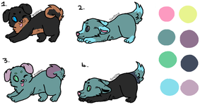 Free Adopts by CrazyWeirdo-Moonfall