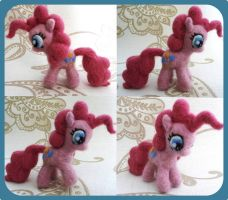 Pinkie Pie Needle Felt Plushie! by Charlottejks