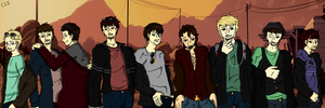 Grand Theft Lads by CardiGirl28