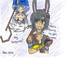 Jack and Bunny by Nicktoons4ever