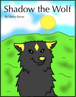 Shadow the Wolf Cover by ShadowtheWingedWolf