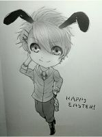 *Syo The Easter Bunny(doodle)* by AniMusision