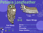 AOOM - Petunia the Spotted Owl reference by BlueSkyOtter