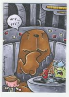 chewie playing holochess by katiecandraw