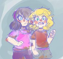 theyre tomboys by cookieyumster