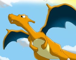 Charizard REQUEST by DewwyDarts