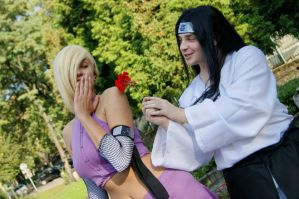 Neji and Ino romance by LadyArcade