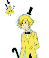 Bill Cipher (Hum!) by LanaDemon