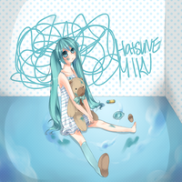 ::Play time with Hatsune Miku by Purikko