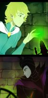some Maleficent genderbend by circus-usagi