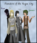 Founders of the Rogue City by RobotsWithCookies
