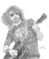 Dave Grohl by Wosele