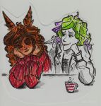 Lissa and Owly by Shade-in-Hat