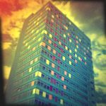 Holga 25 - Tower Block by uselessdesires