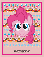 Pinkie Pie poster for Andrea Libman by AurumNoble