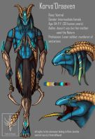 Korvo'Draaven design for Rem-Jericho by VentralHound