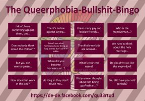 Queerphobia-Bullshit-Bingo by engineerJR